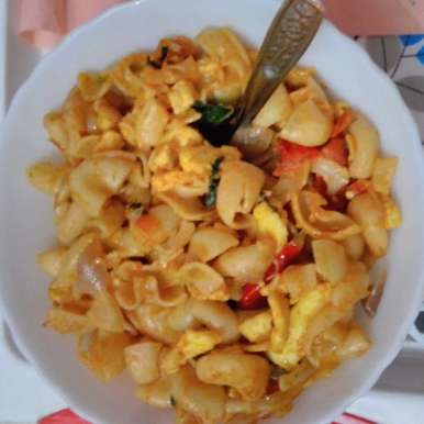Photo of Paneer Macroni/Pasta in Indian Style by Rathy V at BetterButter
