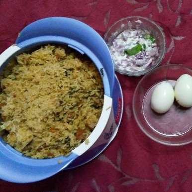 Photo of Mutton Biriyani in Pressure Cooker by Rathy V at BetterButter