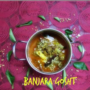 Photo of Banjara Gosht/Mutton curry in Gypsy Style by Rathy V at BetterButter