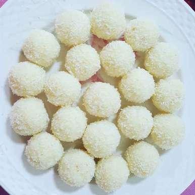 Coconut Ladoo recipe in Tamil,தேங்காய் லடூ, Ramya Sambandam