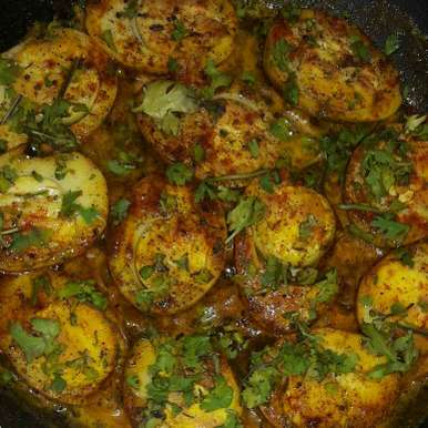 Photo of Spicy Eggs by RamyaSree  at BetterButter
