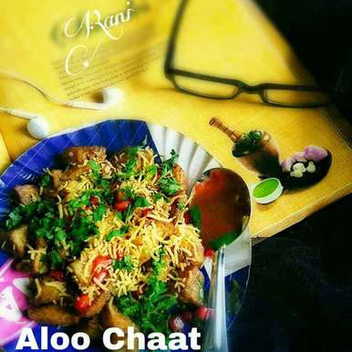 Photo of Fry Aloo chaat by Rani Soni at BetterButter