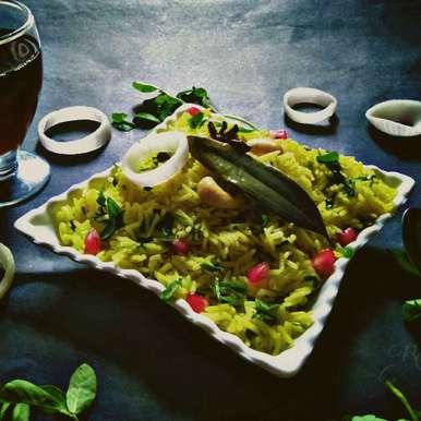 Methi Pulao recipe in Gujarati, મેથી પુલાવ, Rani Soni