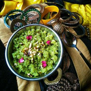 Photo of Curry leaves halwa by Rani Soni at BetterButter