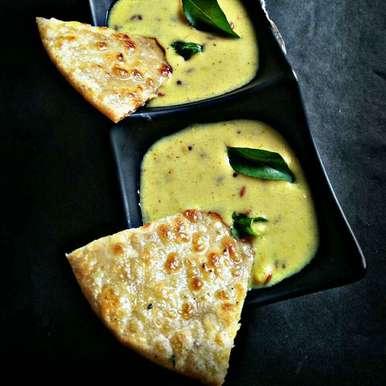 Vedami and kadhi recipe in Gujarati, વેડમી અને કઢી, Rani Soni