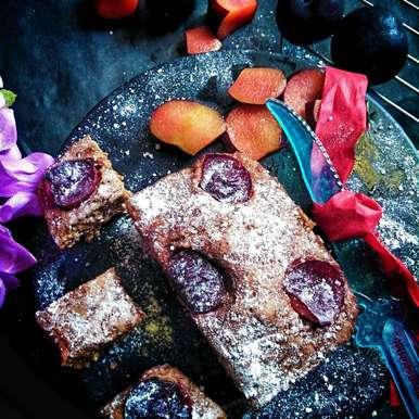 Photo of Microwawe Plum Cake by Rani Soni at BetterButter