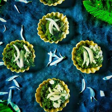 Photo of Palak Paneer Canapes by Rani Soni at BetterButter