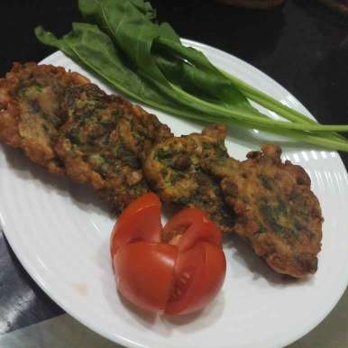 Photo of spinach fritters by Ranjita MUkhopadhyay at BetterButter