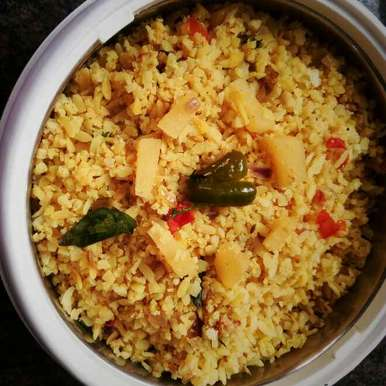 Photo of POTATO flattened rice by Rashmi SudhiMurthy at BetterButter