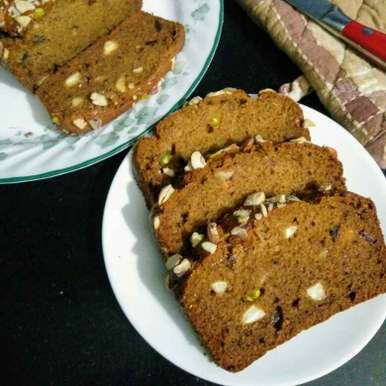 Photo of Dates and nuts loaf by Reena Andavarapu at BetterButter
