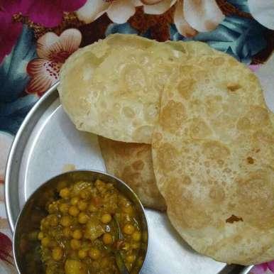 Bhature, How to make Bhature