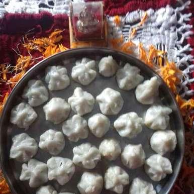 Modak recipe in Hindi,मोदक, Reena Verbey