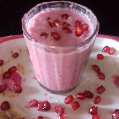 Photo of Anar smoothie by Reena Verbey at BetterButter