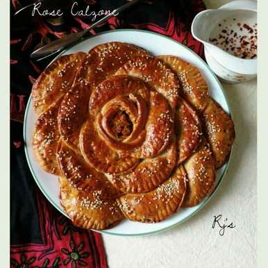 Photo of Rose Calzone by Rekha Joseph at BetterButter