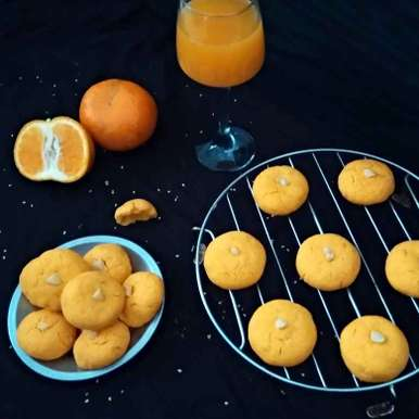 Photo of Delish Orange Cookies by Rekha Unni at BetterButter