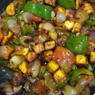 Photo of Paneer stir fry by rema devi at BetterButter