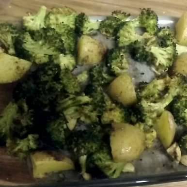 Photo of Baked Broccoli and Potatoes by Remy Haque at BetterButter
