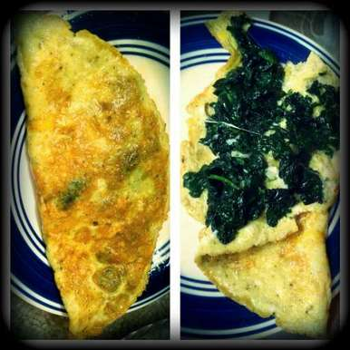 Photo of Cheesy spinach omelette by Remy Haque at BetterButter