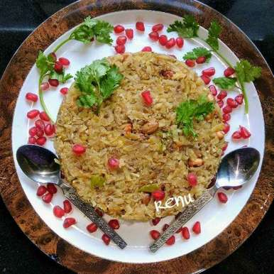 Photo of Sweet Potato Poha/ Kees (in Marathi) by Renu Chandratre at BetterButter
