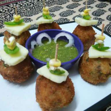 Veg cheese balls recipe in Hindi,वेज चीज बॉल, Renu Maurya
