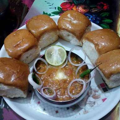 Photo of pav bhaji by Reshma Adhikary at BetterButter