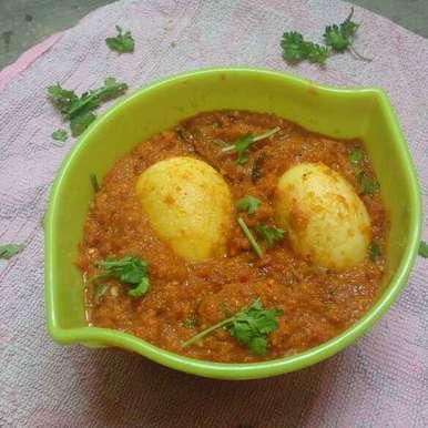 Egg curry recipe in Tamil,முட்டை கறி, Revathi Reva