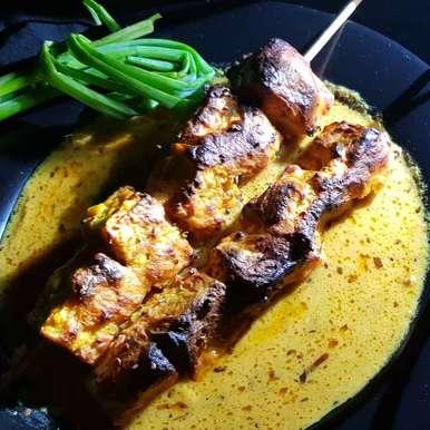 Photo of (Trachyspermum ammi) ajwaini chicken loaf's Tandoori In ajwani gravy. by Rickta Dutta at BetterButter