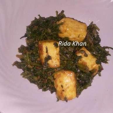 Photo of Masala Palak Paneer by Rida Khan at BetterButter