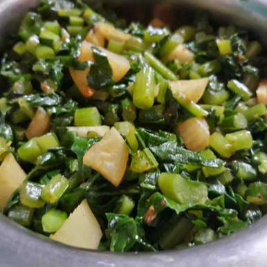 Photo of Radish Leaves Sabji by Ridhima Mohil at BetterButter