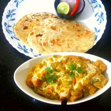 RESTURANT STYLE MIX VEGETABLES recipe in Bengali,রেস্টুরেন্ট স্টাইল মিক্সড ভেজিটেবল, MOUMITA DAS