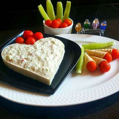 Photo of CUCUMBER AND TOMATO MOUSSE SALAD by MOUMITA DAS at BetterButter