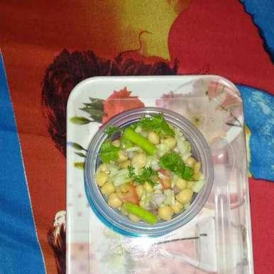 Photo of Kabuli chane ka salad by Rimjhim Agarwal at BetterButter
