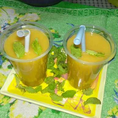 Photo of Mango iced tea by Rimjhim Agarwal at BetterButter