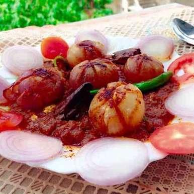 Photo of Baby onions massala with tangy gravy by Rina Khanchandani at BetterButter