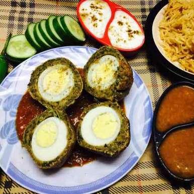Photo of Nargisi Fenugreek Egg Kofta Curry by Rina Khanchandani at BetterButter