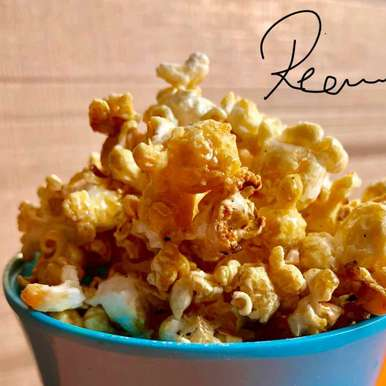 Photo of Homemade Caramel popcorn (healthy recipe) by Rina Khanchandani at BetterButter