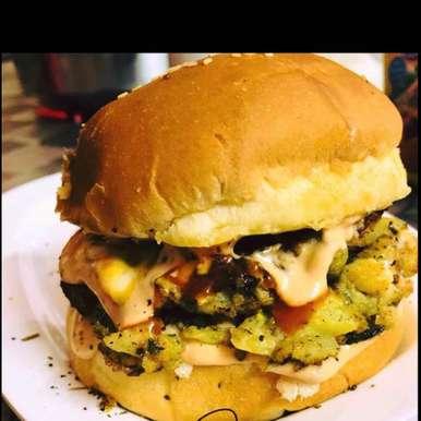 Photo of Veggie burger by Rina Khanchandani at BetterButter