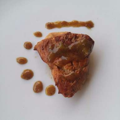 Photo of Mosambi Chicken with Honey ginger Reduction by Rishab Beri at BetterButter