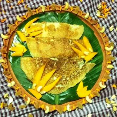 Photo of Mango rawa instant dosa by Ritam Guha at BetterButter