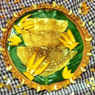 Mango rawa instant dosa recipe in Bengali,আম সুজির ইন্সট্যান্ট ধোসা, Ritam Guha