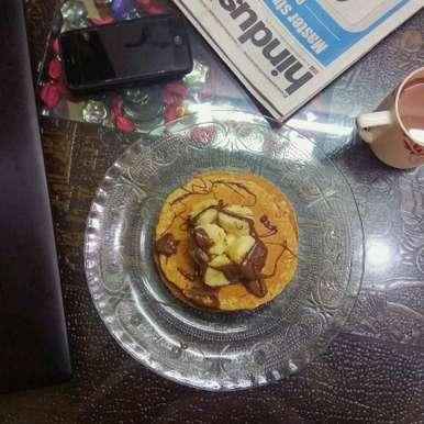 Photo of Oats Pancakes by Ritika Ghosh-Mukherjee at BetterButter