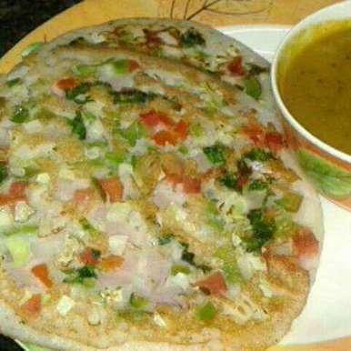 Uttapam recipe in Bengali,উত্তাপম, Rita Arora