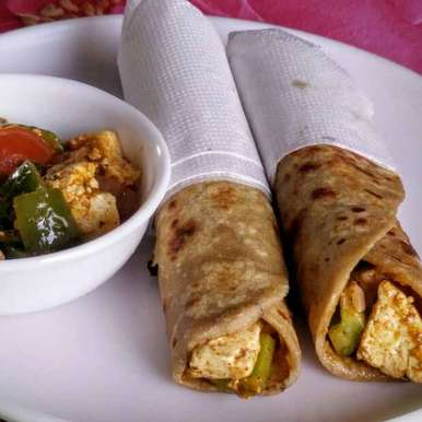 Photo of Paneer Tikka Kathi Rolls by Rita Arora at BetterButter