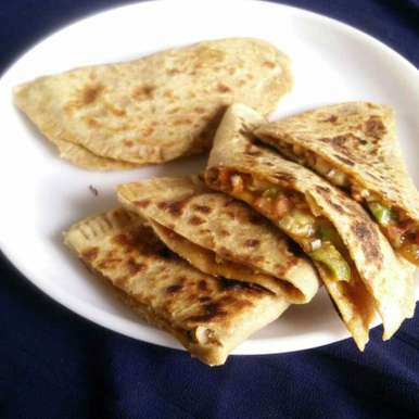 Photo of Pizza Paratha by Rita Arora at BetterButter