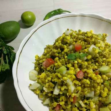 Photo of Sprouted Moong Salad by Rita Arora at BetterButter