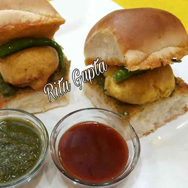 Photo of Vada pav by Ritu Gupta at BetterButter