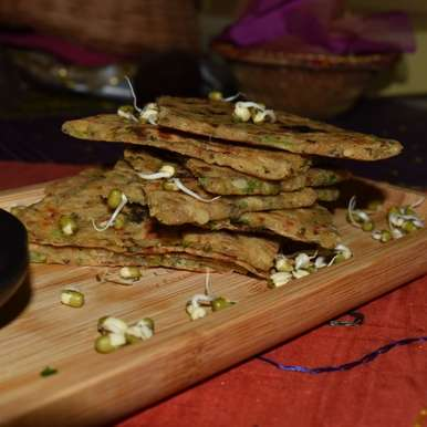 Photo of Sprouted Moong Paratha by Ritu Gupta at BetterButter