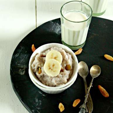 Photo of Wholesome Banana Rice Pudding for Babies (6 months+) by Ritu Sharma at BetterButter