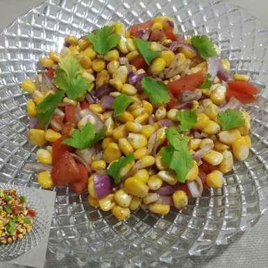Photo of Corn bhel by Riya Dhiman at BetterButter