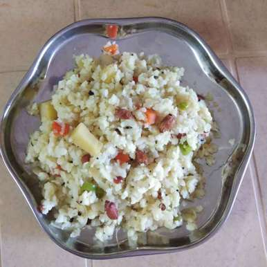 Photo of Veg poha by Sree Vaishnavi at BetterButter
